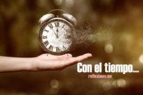 Con el tiempo (José Luis Borges)