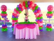 Decoraciones con globos para cumpleaños