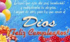 Mensajes cristianos de cumpleaños