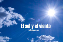 El sol y el viento (reflexión)